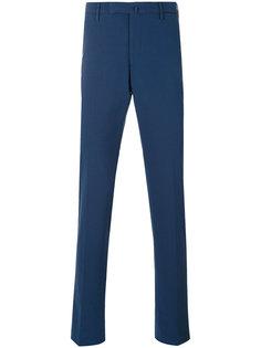 брюки прямого кроя Incotex