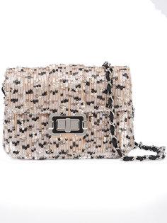 сумка на плечо с пайетками Monique Lhuillier