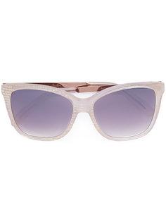 солнцезащитные очки в квадратной оправе Monique Lhuillier