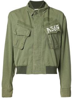 куртка с нагрудными карманами As65