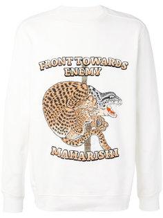 Crouching Tiger sweatshirt Maharishi