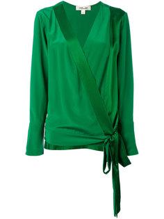 блузка с запахом Diane Von Furstenberg