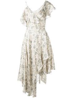 """асимметричное платье с принтом """"пейсли"""" Zimmermann"""
