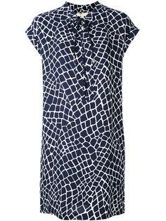 платье с абстрактным принтом Michael Michael Kors