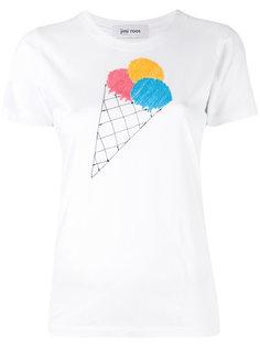 футболка с вышивкой мороженого Jimi Roos