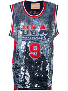 баскетбольная футболка с пайетками Night Market