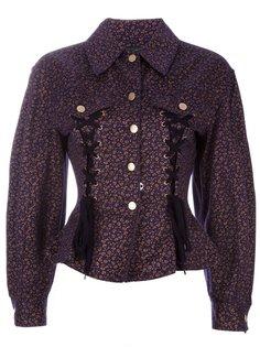 куртка с боковыми шнуровками Jean Paul Gaultier Vintage