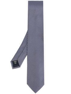 галстук с мелким принтом Ermenegildo Zegna