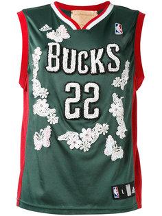 баскетбольная футболка с цветочными элементами Night Market