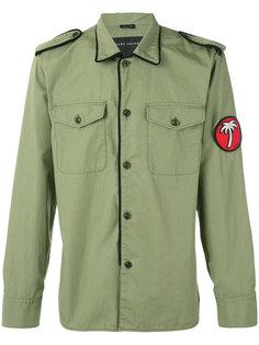 пиджак в стиле милитари с заплаткой Marc Jacobs
