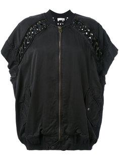 куртка с короткими рукавами и люверсами Faith Connexion