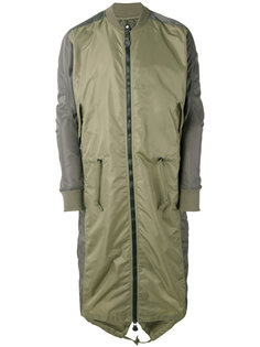 Ergonomic Fishtail bomber coat Maharishi