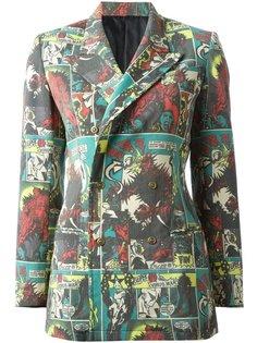 пиджак в принт JPG  Jean Paul Gaultier Vintage