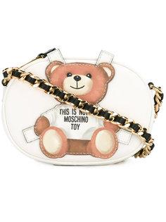 сумка через плечо с медведем Moschino