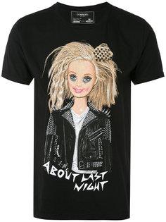 футболка с принтом Барби Dom Rebel