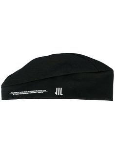 шапка-бини с фирменным принтом Julius