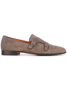 ботинки с пряжками Santoni