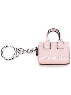 branded tote keyring Karl Lagerfeld