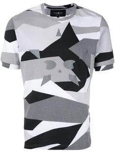 футболка с рисунком Hydrogen