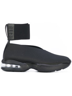 кроссовки с ремешком на щиколотке MSGM