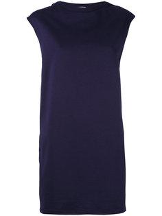 спортивное платье со шнуровкой на поясе Moncler