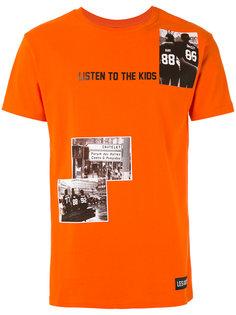 футболка с нашивками Les (Art)Ists