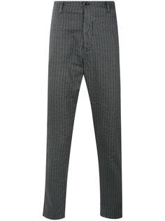 полосатые зауженные брюки  Transit