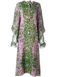 длинное платье с принтом Sakura  Natasha Zinko