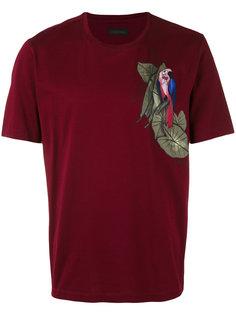 футболка с попугаем Z Zegna