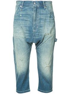 укороченные джинсы R13