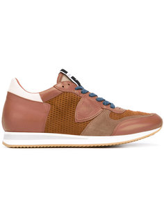 кроссовки с сетчатыми панелями  Philippe Model