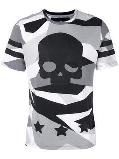 футболка с принтом в виде черепа Hydrogen