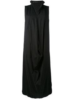 структурированное драпированное платье  Federica Tosi