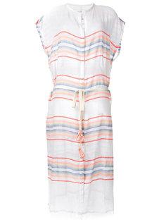 прозрачное платье миди с пуговицами Lemlem