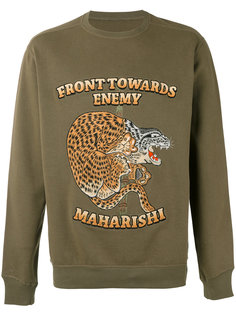 Crouching Tiger sweater Maharishi