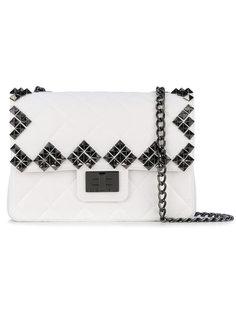 сумка через плечо с заклепками Designinverso