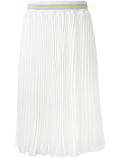 плиссированная юбка миди  Blugirl