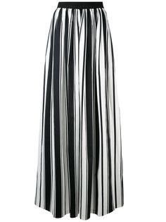 длинная полосатая юбка Blugirl