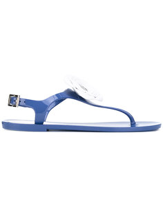 сандалии с цветочным элементом Armani Jeans