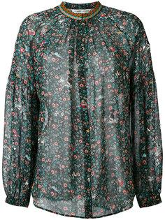 блузка  с плетеной горловиной Tsumori Chisato