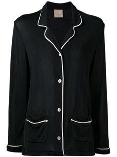пиджак с контрастной окантовкой Laneus