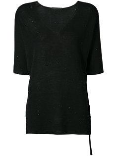 блуза с завязкой на боку Fabiana Filippi