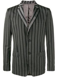 пиджак в полоску Alexander McQueen