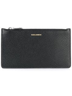 кошелек для монет на молнии Dolce & Gabbana