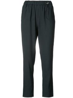 брюки с эластичным поясом Fabiana Filippi