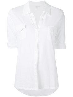 рубашка с нагрудными карманами Majestic Filatures