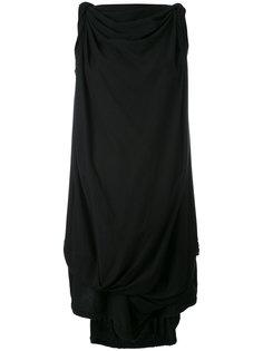 платье шифт с асимметричным подолом Bernhard Willhelm