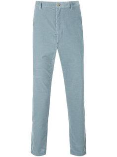 вельветовые брюки кроя слим A.P.C.