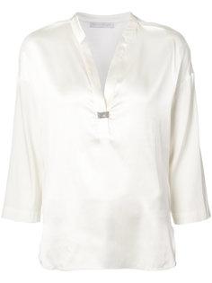 блуза с V-образным вырезом Fabiana Filippi
