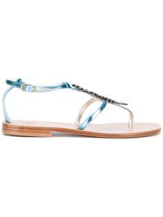 сандалии с морским коньком Lisa C Bijoux